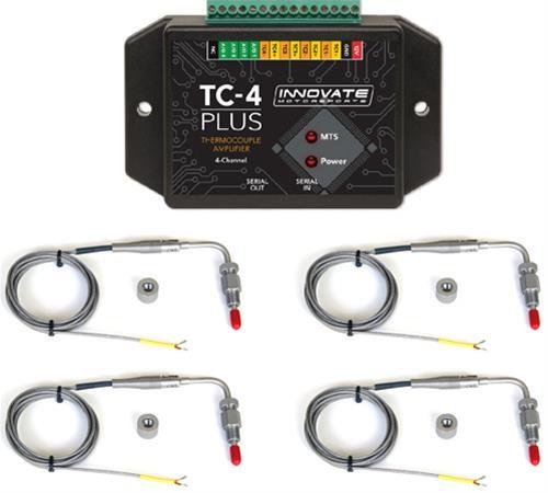 Innovate Wzmacniacz termopary TC-4 PLUS z sondami EGT K - GRUBYGARAGE - Sklep Tuningowy
